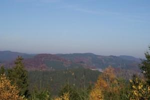 Wanderweg oberhalb von Bad Laasphe