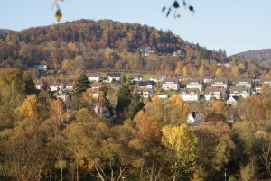 Blick auf den Schloßberg